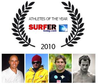 «Athletes Of The Year 2010» by SurferToday